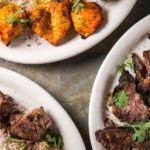 Chopan, Chicken, and Beef Kabob